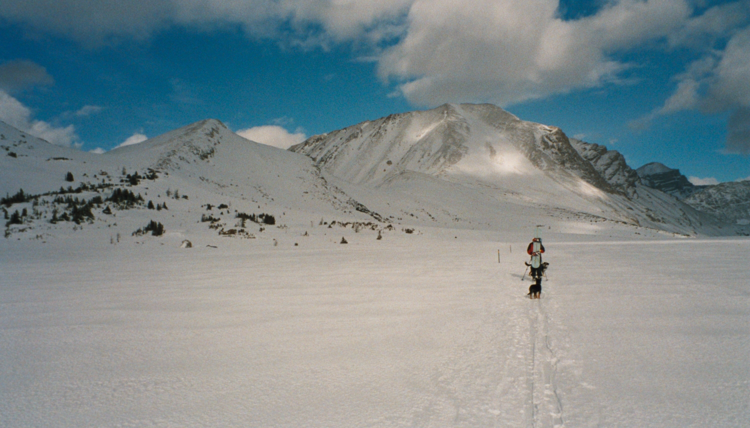 Heading Towards Packers Pass - BC Back-Country.