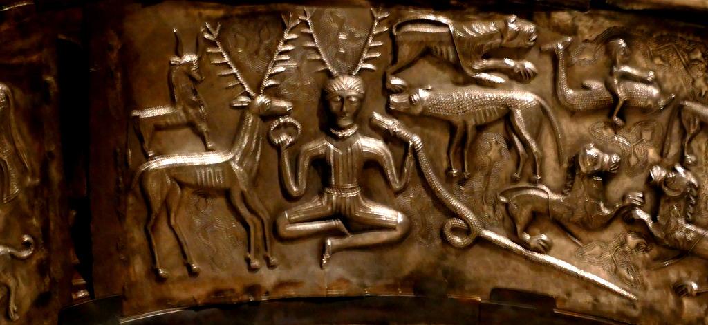 Cernunnos - Gundestrup Cauldron - British Museum
