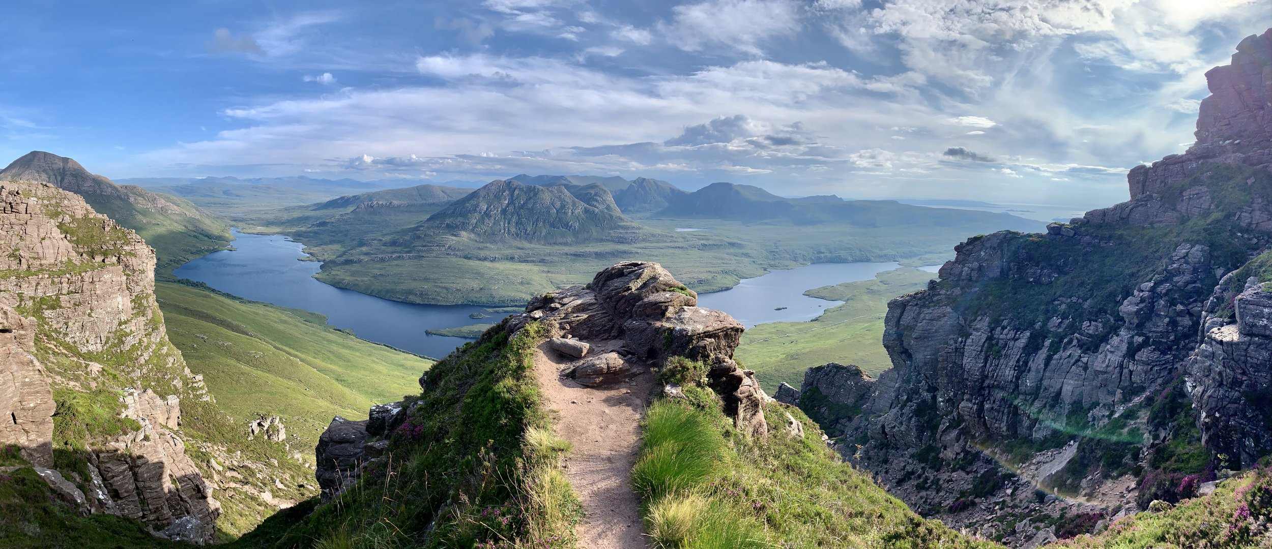 Image - Looking South from Stac Pollaidh ©Paul J Howell