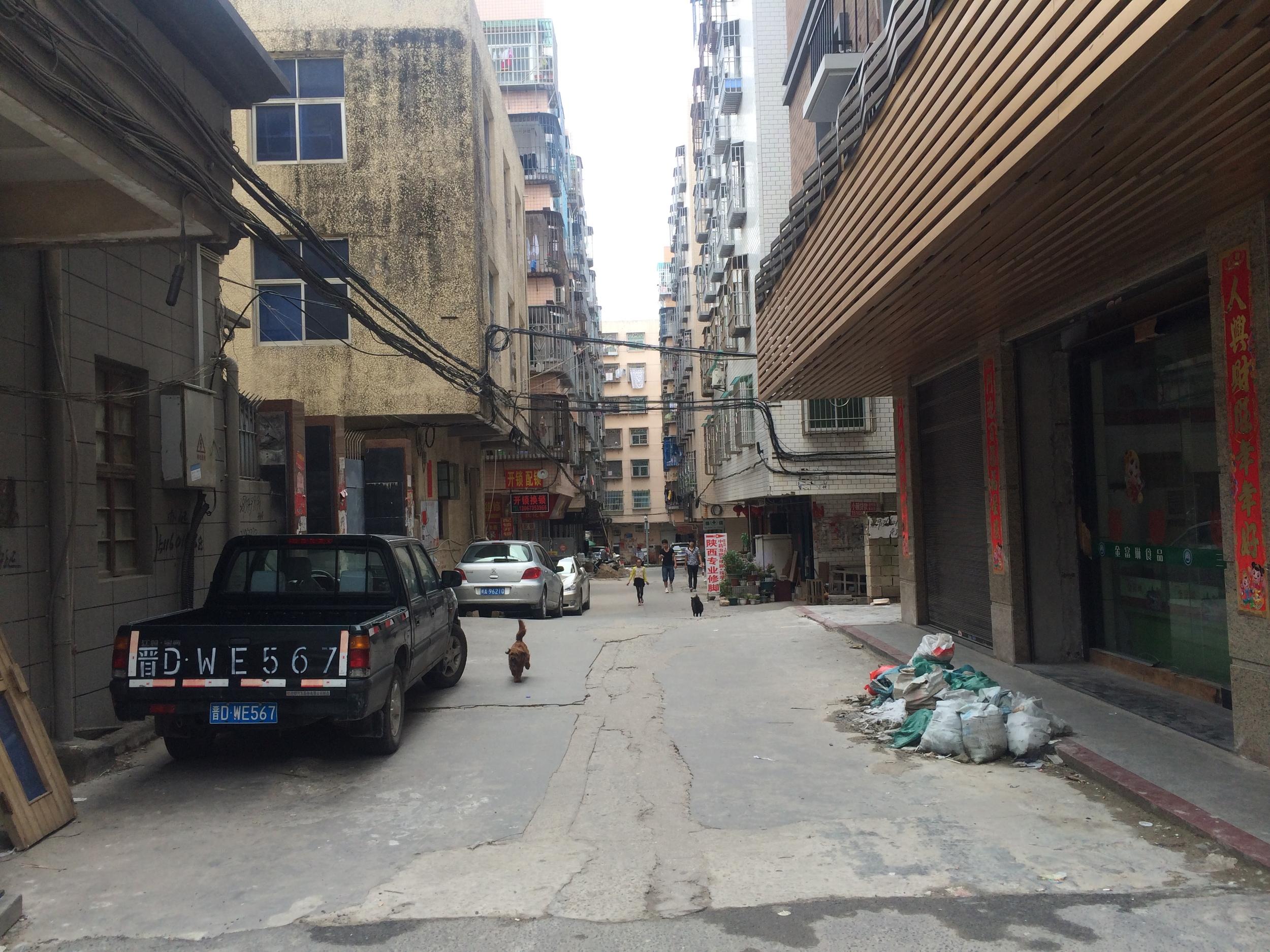 Streets in Pingtan Island