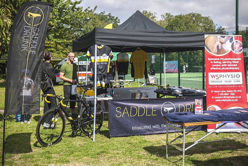 Officially our first outing with our new gazebo, flags, banners & cool kit