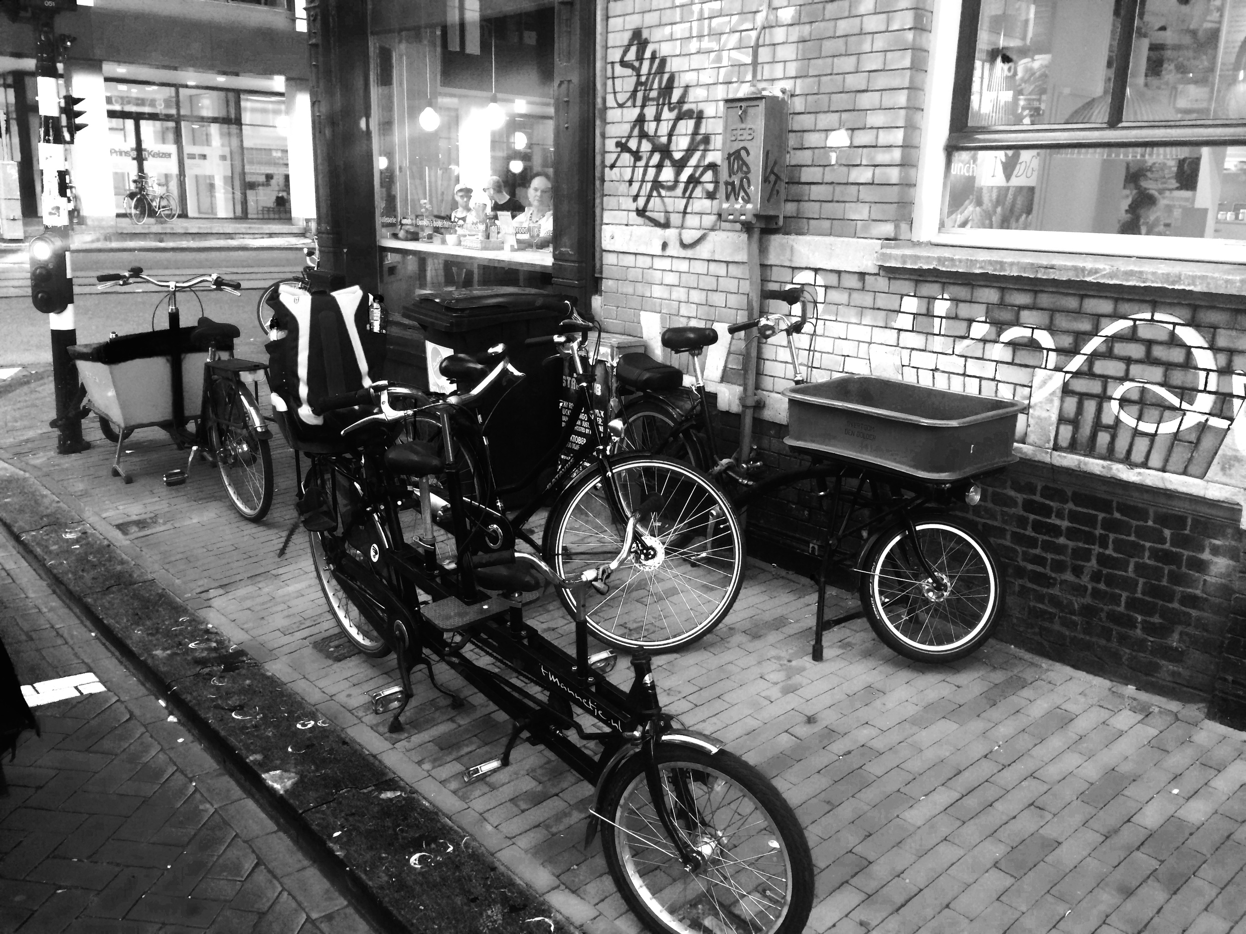 The best transport around Amsterdam.