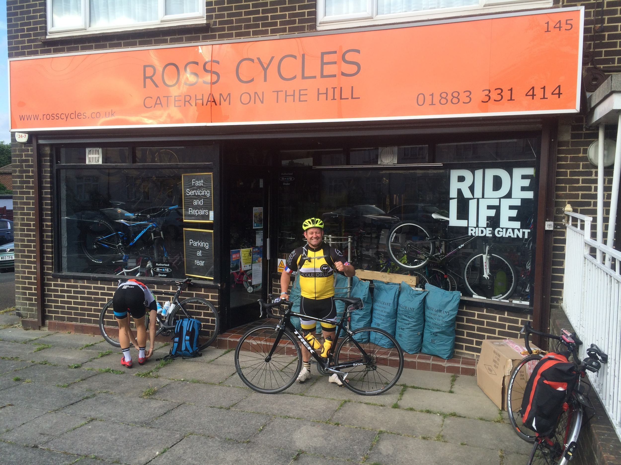 Ross Cycles saved Carl's ride to Paris