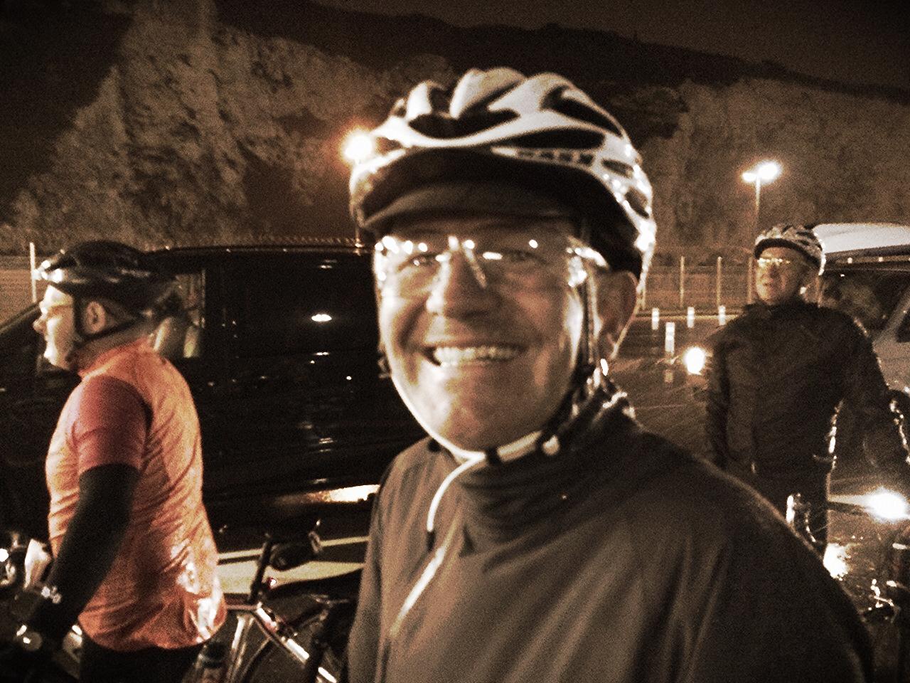 Derek landing in Dieppe with Heavy Rain & 42 Knots Wind Gusts