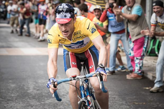 Ben Foster plays Lance Armstrong