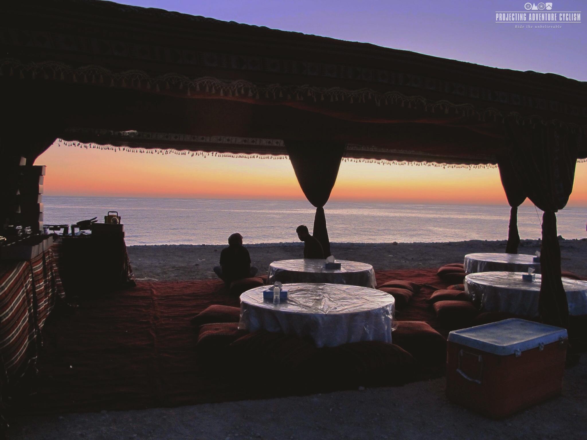 Relaxing in Oman