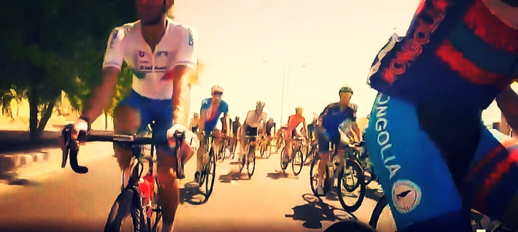 Live Cam in the middle of the Peloton!!