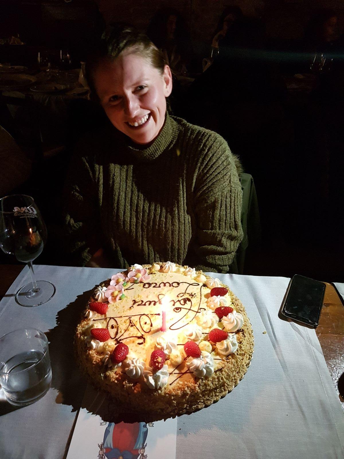 Laura's Gluten Free cake