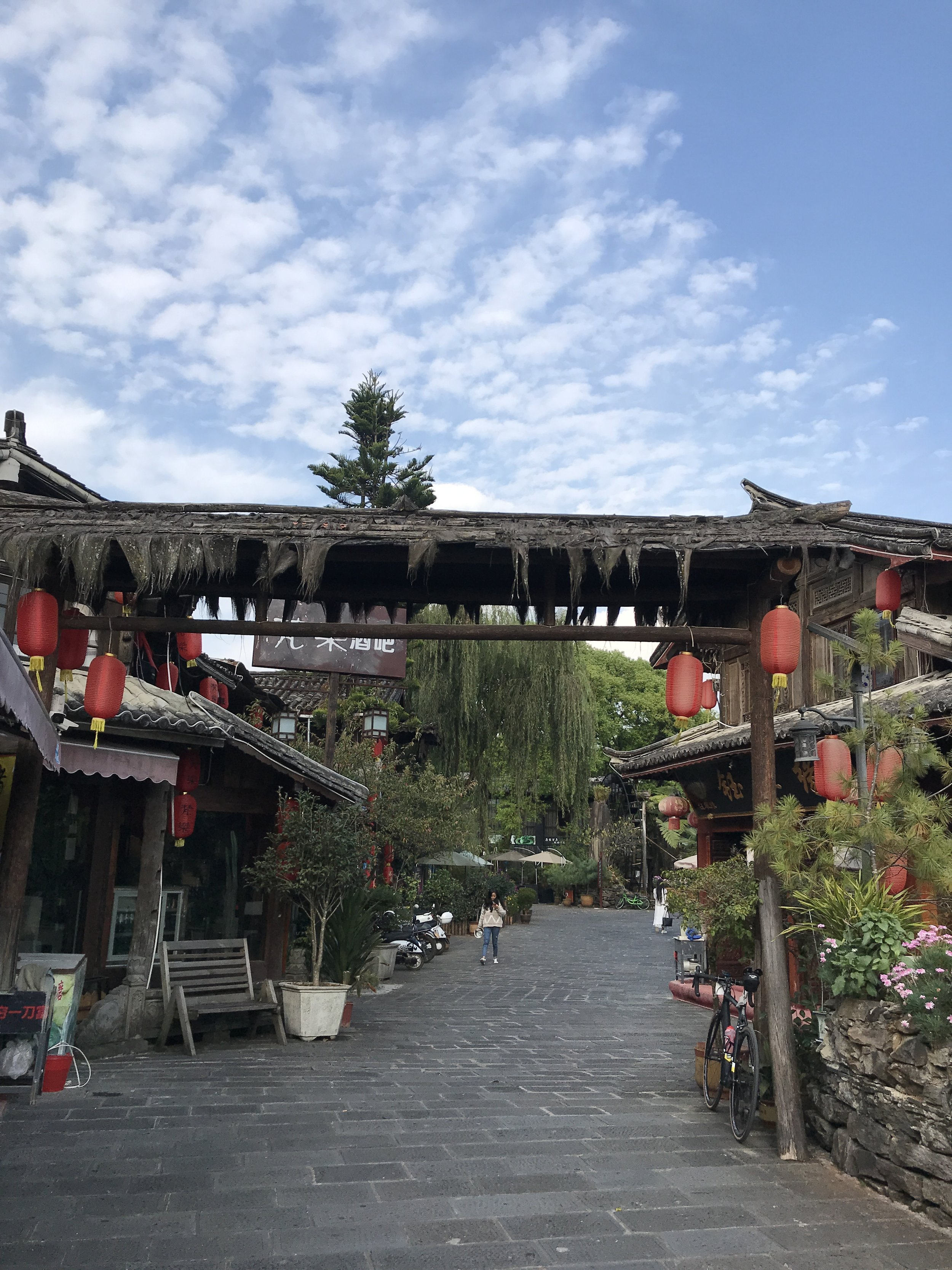 Part of the Old Town of Teng Chong.