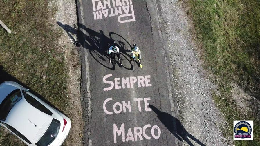 You will be able to ride some of Marco's Climbs.