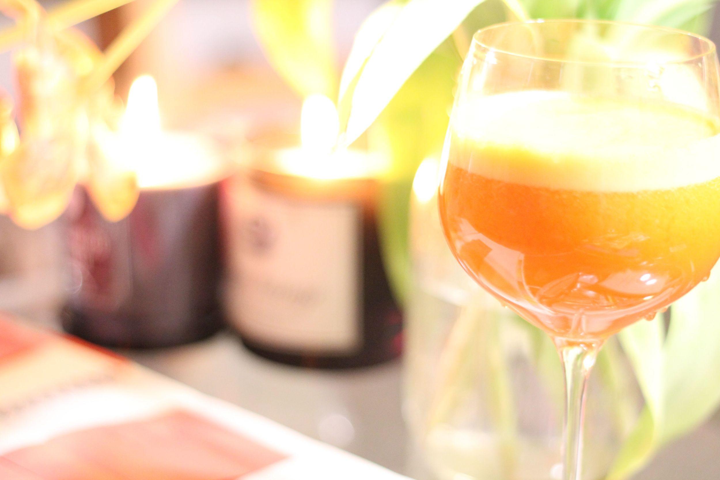 Delicious Energizing Orange Juice