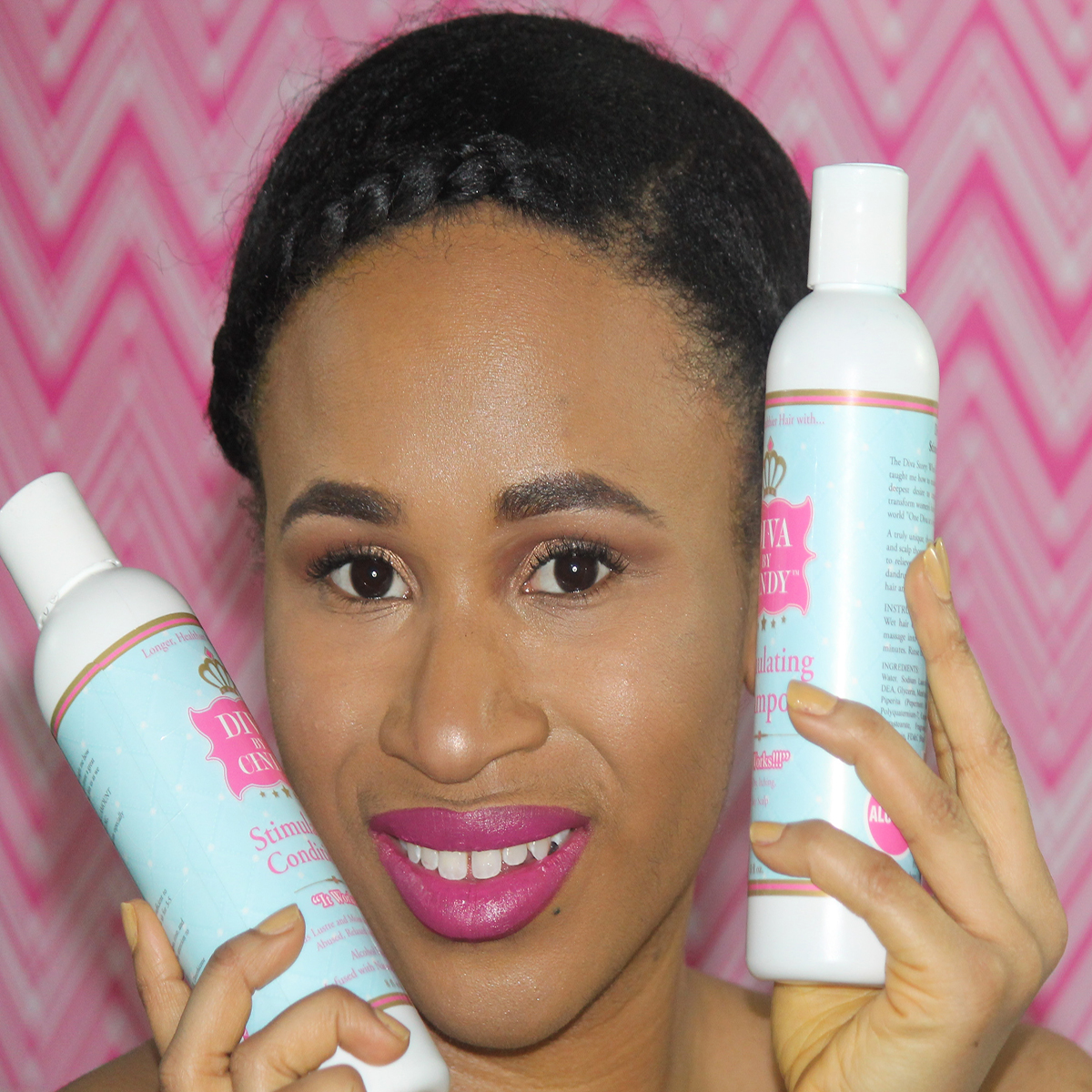 Diva by Cindy Stimulating Shampoo is definitely my favorite product from the line.