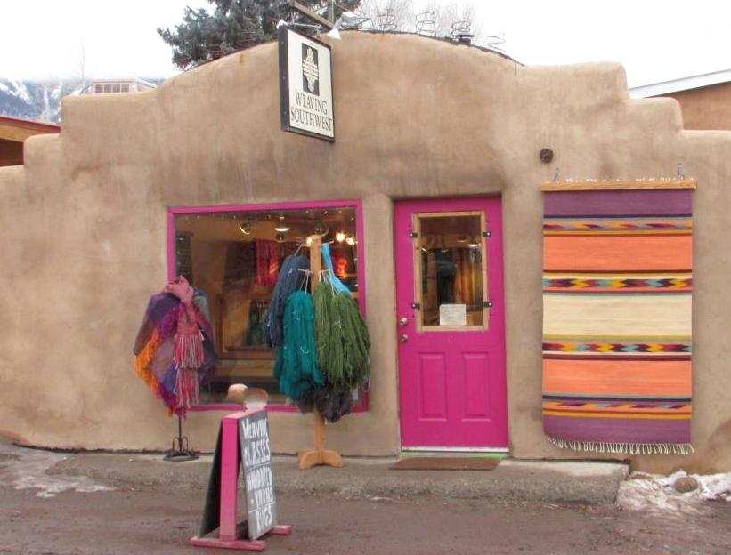 Weaving Southwest in Arroyo Seco, New Mexico
