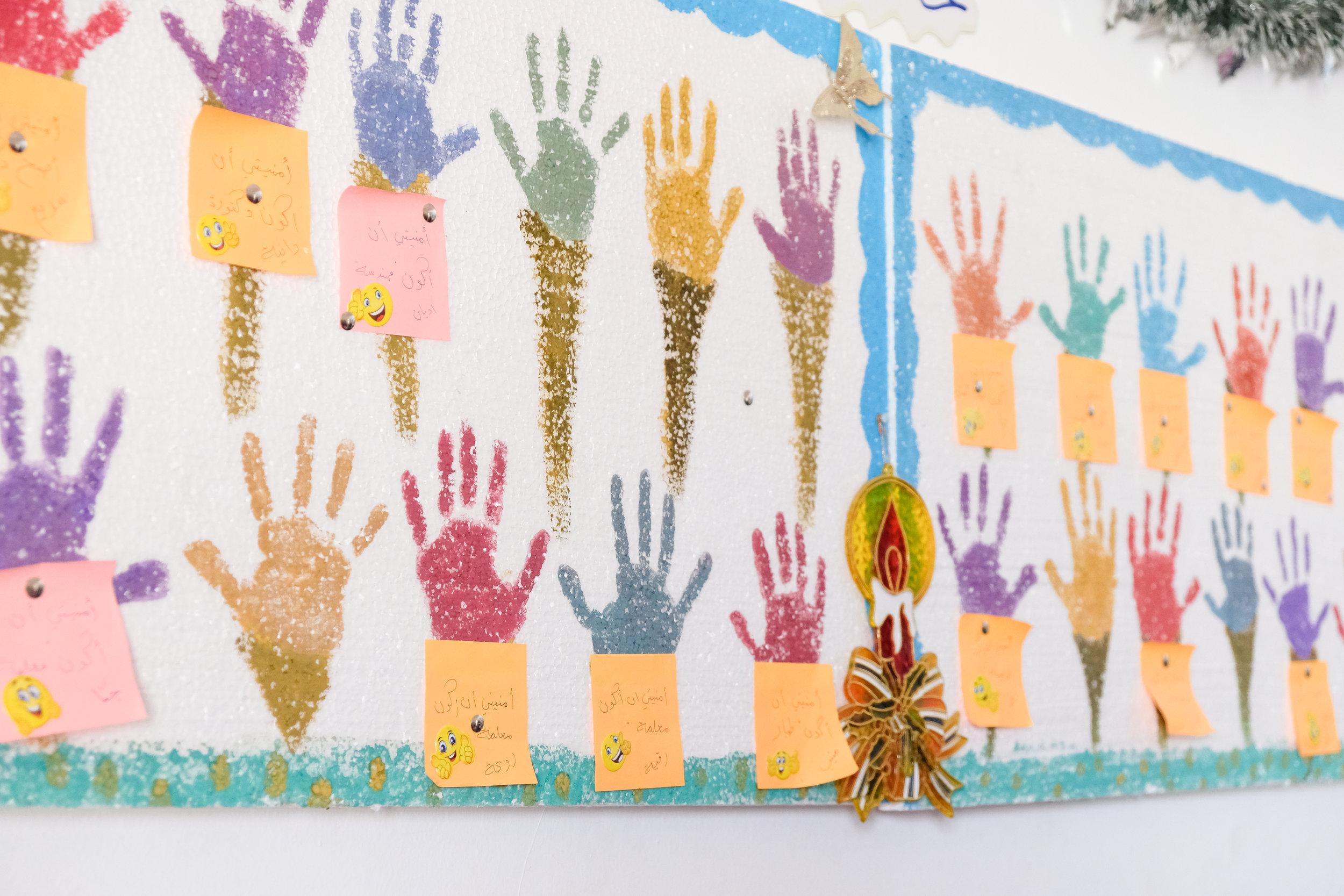 Handprints + What the Children Hope to Be..jpg
