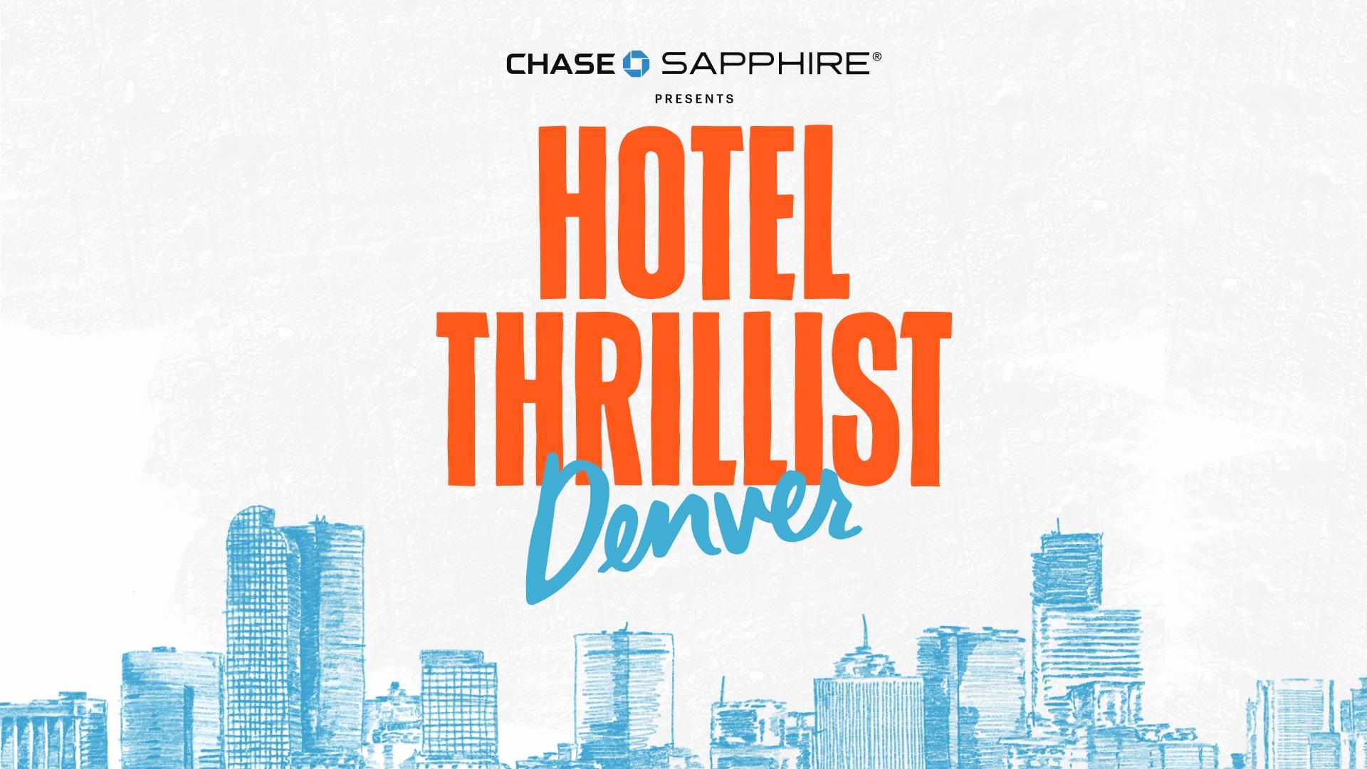 Hotel ThrillisT DENVER -