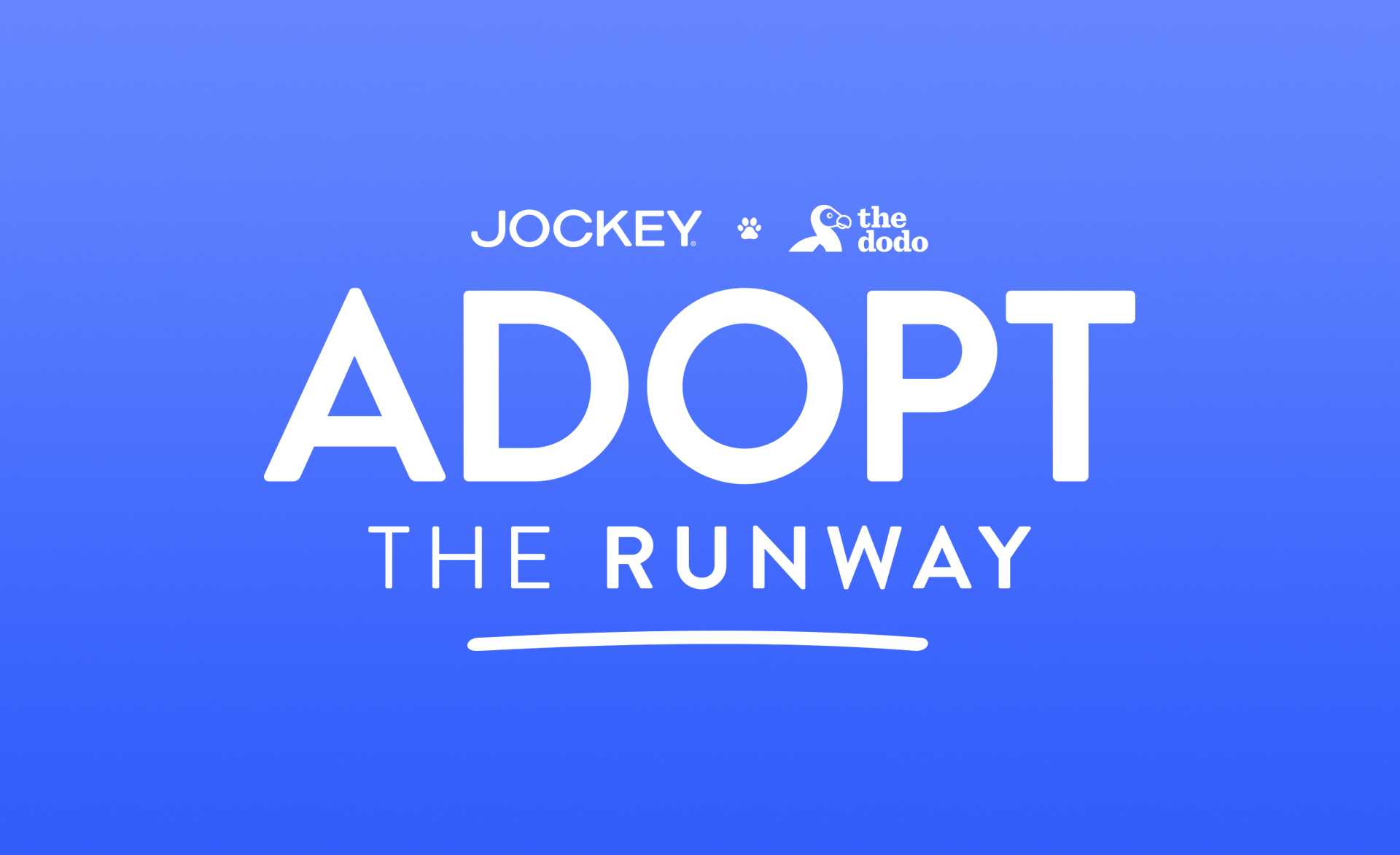 THE DODO X JOCKEY: ADOPT THE RUNWAY -