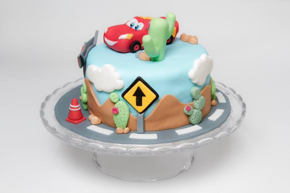 Modelo para fiesta infatil, pero Casa Golosa también hace tartas para adultos.