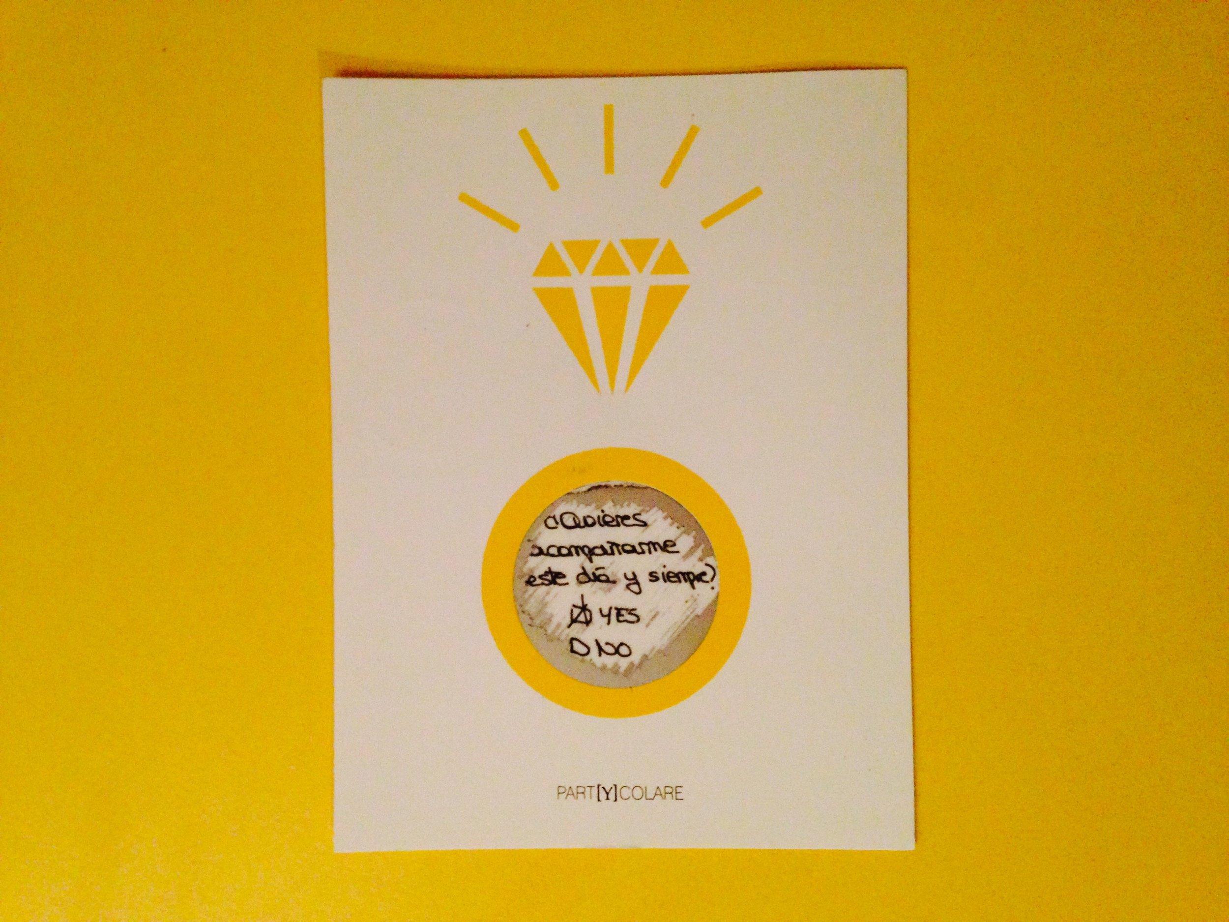 Que una amiga te envíe la postal que tú le has regalado... ¡no tiene precio! Foto: PARTYCOLARE.