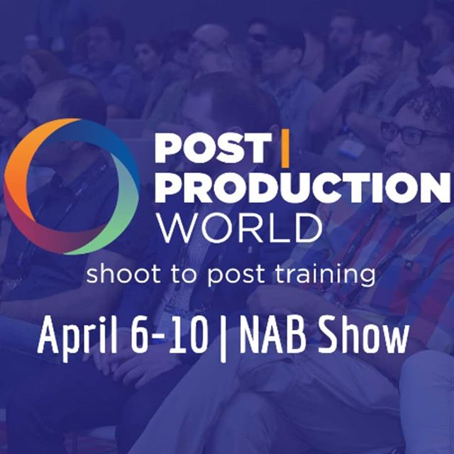 Hello #Vegas! Are you at #NAB? Come say hi! I'm presenting at P|PW Sun-Wed. See all my sessions here: https://bit.ly/2UhLesG  Mon/Tues: South Hall S228 5-6:30: come join me & a crazy lineup of top pros as we share awesome #aftereffects tips. These panels are open to the public (and we might have sweet giveaways, too)! Mon (https://bit.ly/2G3Eab1) Tues (https://bit.ly/2uPiE3p)