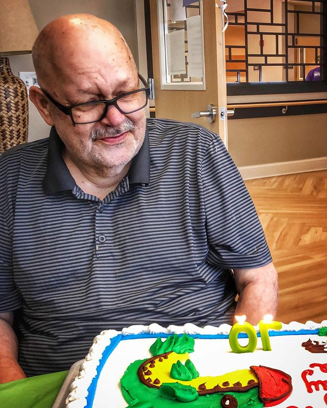Hard to believe, but just a short time ago we were celebrating my Uncle's 70th Birthday. Every time it was someone else's birthday, I got a bit jealous and he took a piece of cake and lit a candle for me. Today he went to a better place. RIP Uncle Bruce, you will be missed. . . . . . . #pocket_colors #ig_color #gramoftheday #visualsgang #picoftheday #instagood #live #world #our_everyday_moments #shotsofresh #lifeofadventure #stunning_shots #transfer_visions #photooftheday #travel #theweekoninstagram #igkansascity #exploretocreate #artofvisuals #bevisuallyinspired #neverstopexploring #soccerworld #shotoniphone #peoplescreatives #ig_captures