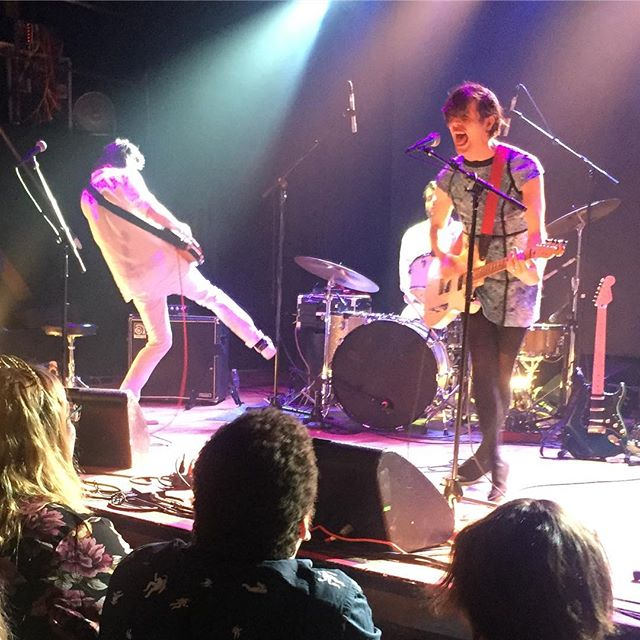 Ezra Furman and The Visions put on a fantastic show this weekend at Warsaw in Greenpoint, Brooklyn. See them when they get to your town! #ezrafurman #warsawbrooklyn #greenpointbrooklyn #punkrock #transangelicexodus
