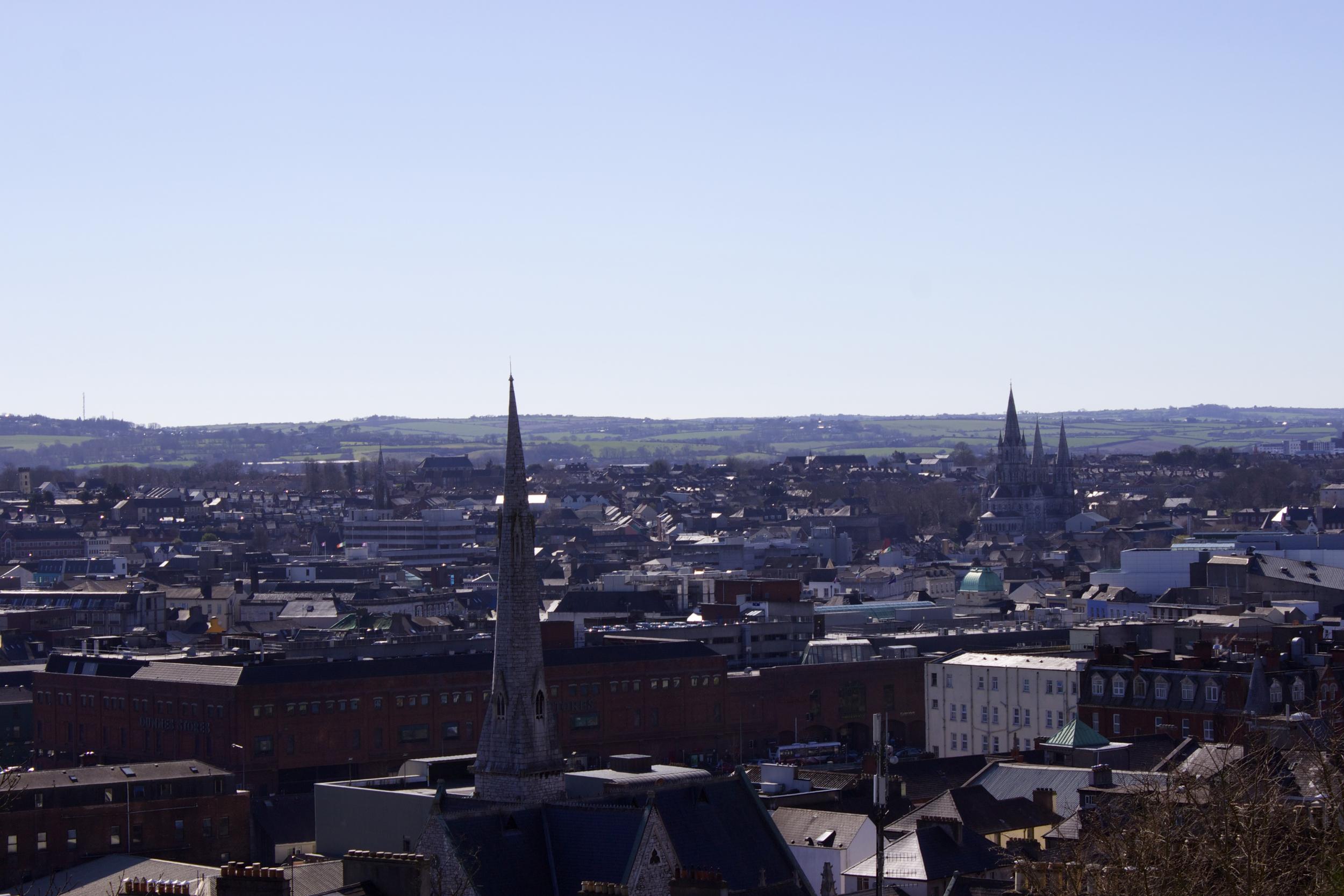 Cork City Skyline