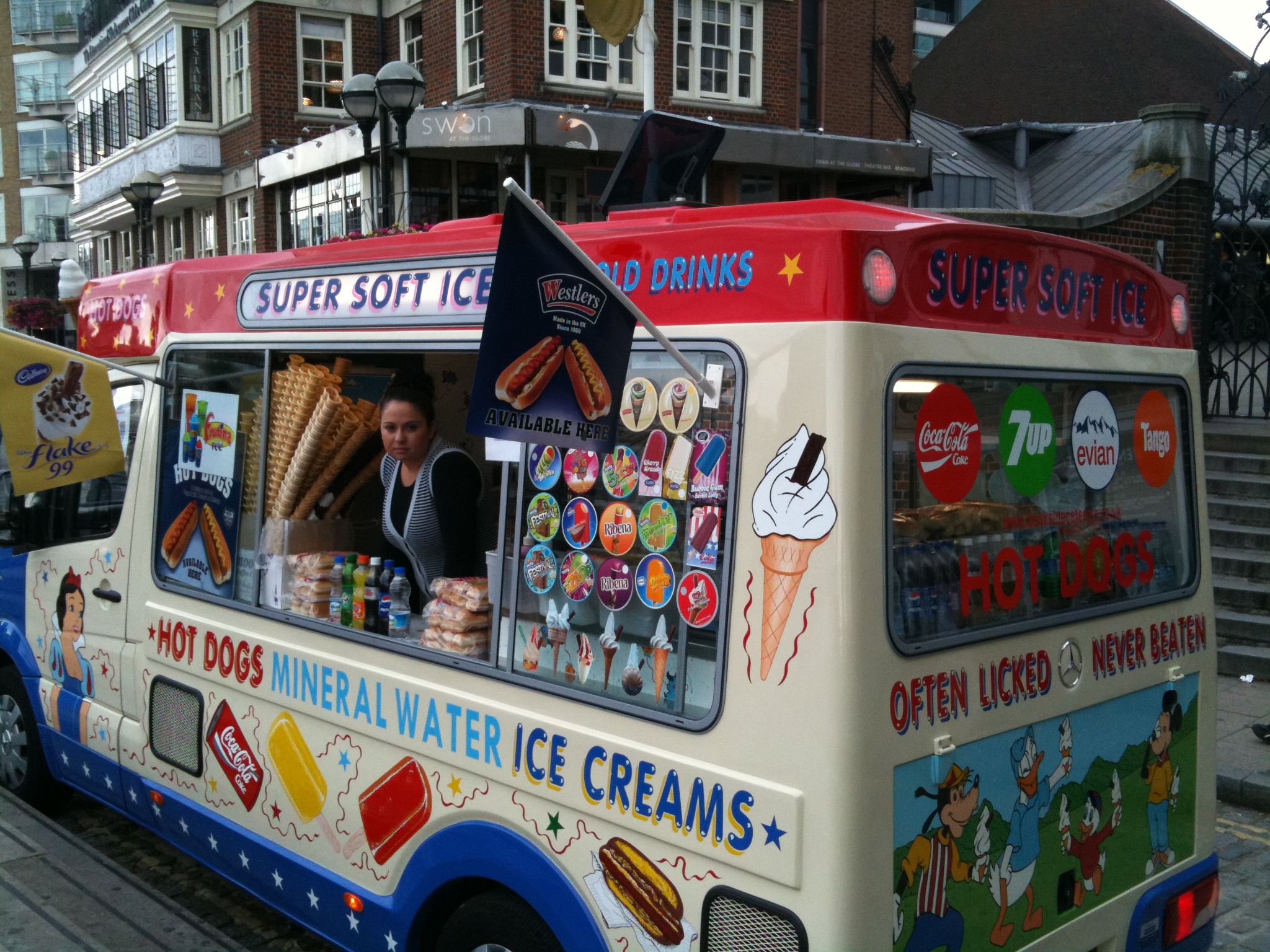 London Ice Cream Truck