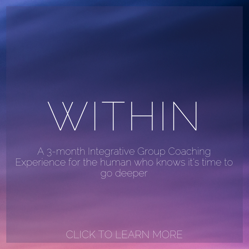 WITHIN - A 3-month integrative group coaching experience