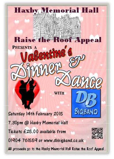 Dinner & Dance with The DB Big Band