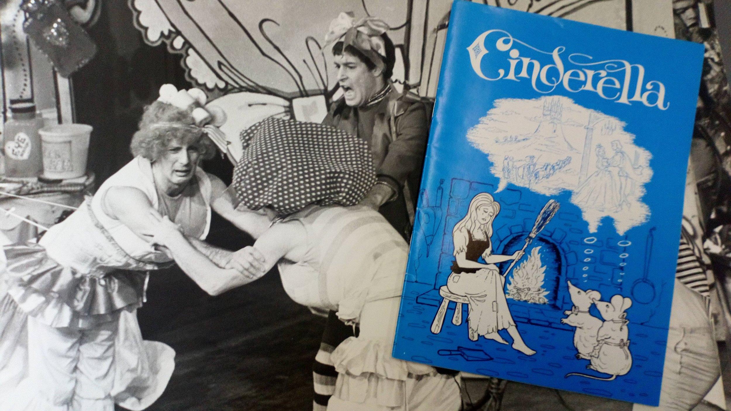 Cinderella 1977 - Berwick Kaler's first York panto Cinderella.jpg