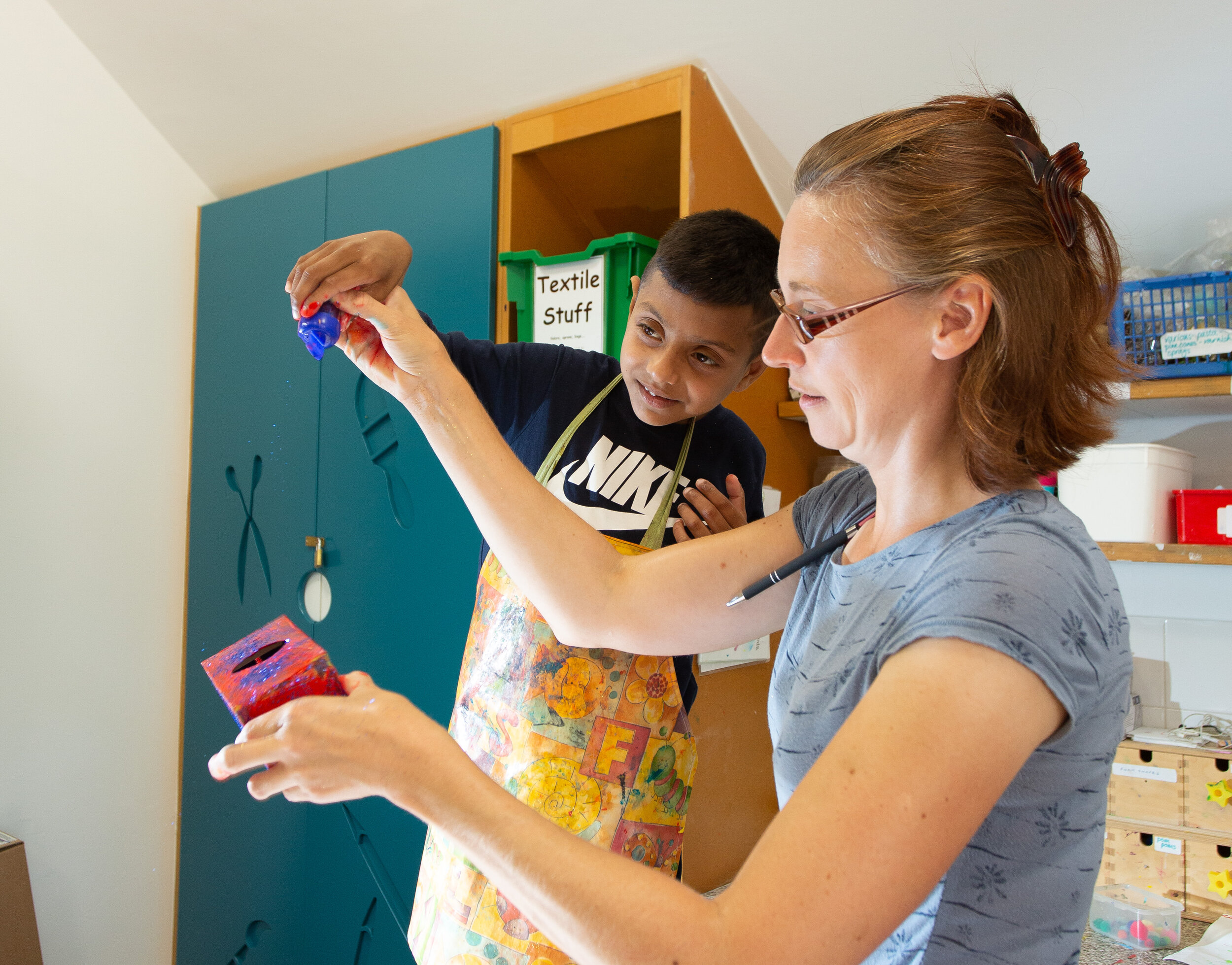 Every year Martin House provides over 3,500 hours of art and music therapy to children with life-limiting conditions.