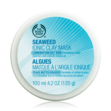 Body Shop Seaweed Ionic Clay Mask