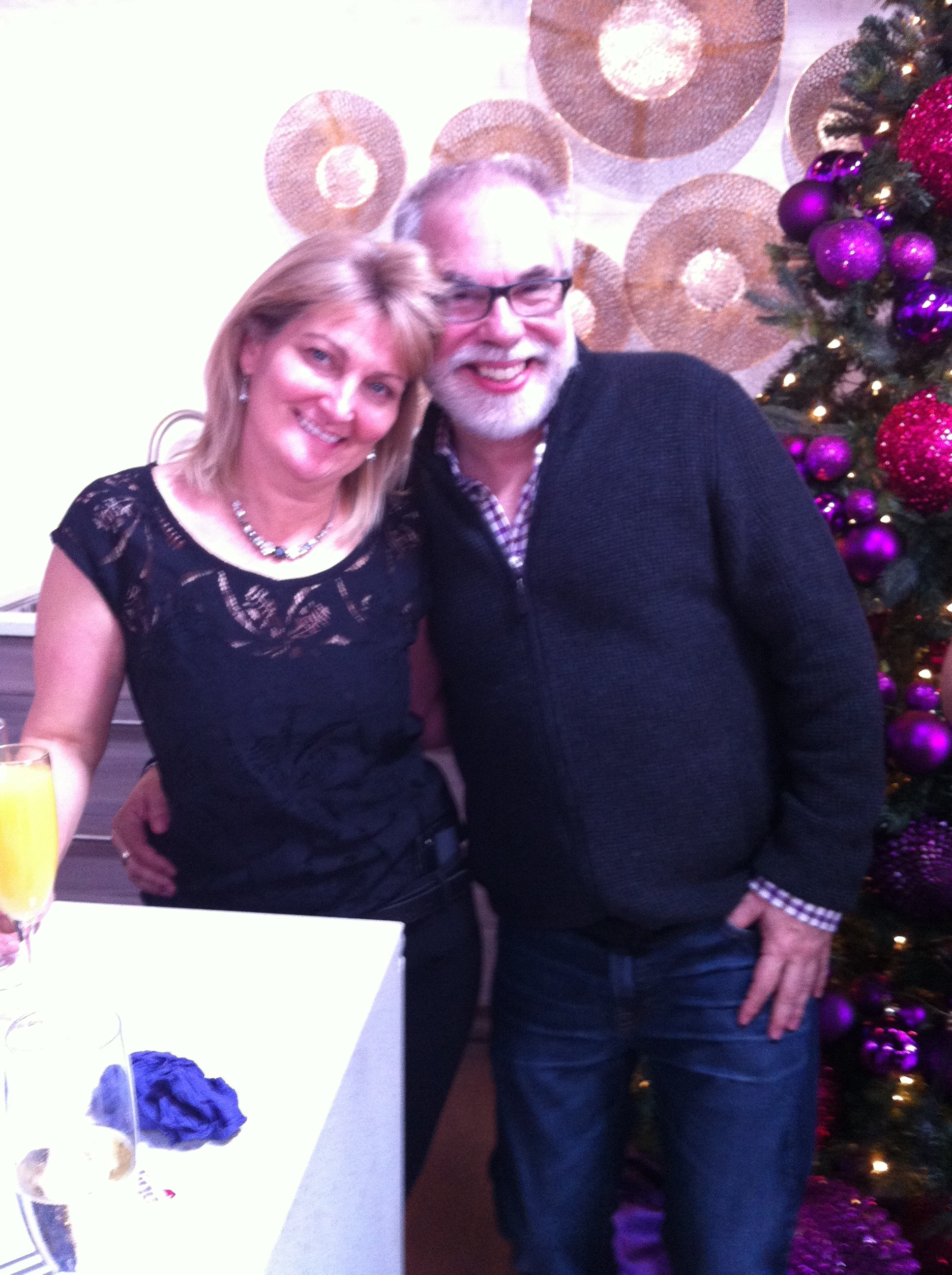 Carolyn & me