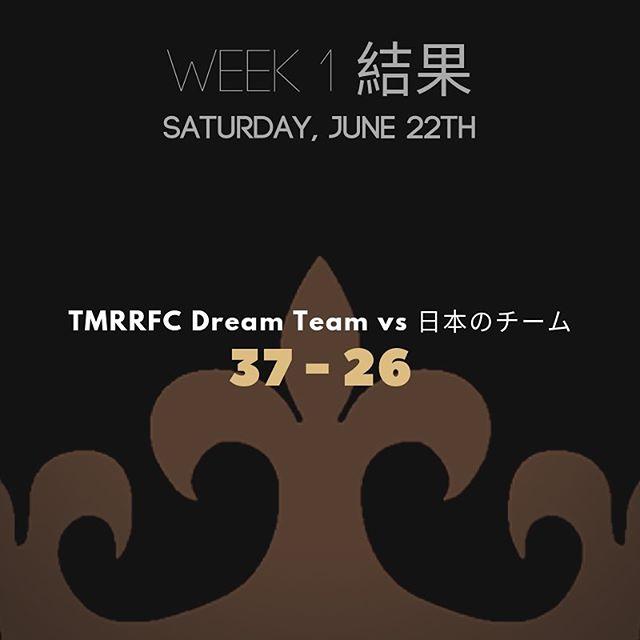 Belle victoire de notre Dream Team à Tokyo!  #rugby15 #rugbyquebec #rugby #rugbycanada #saturdayisrugbyday #evenintokyo #loverugby #rugbytour
