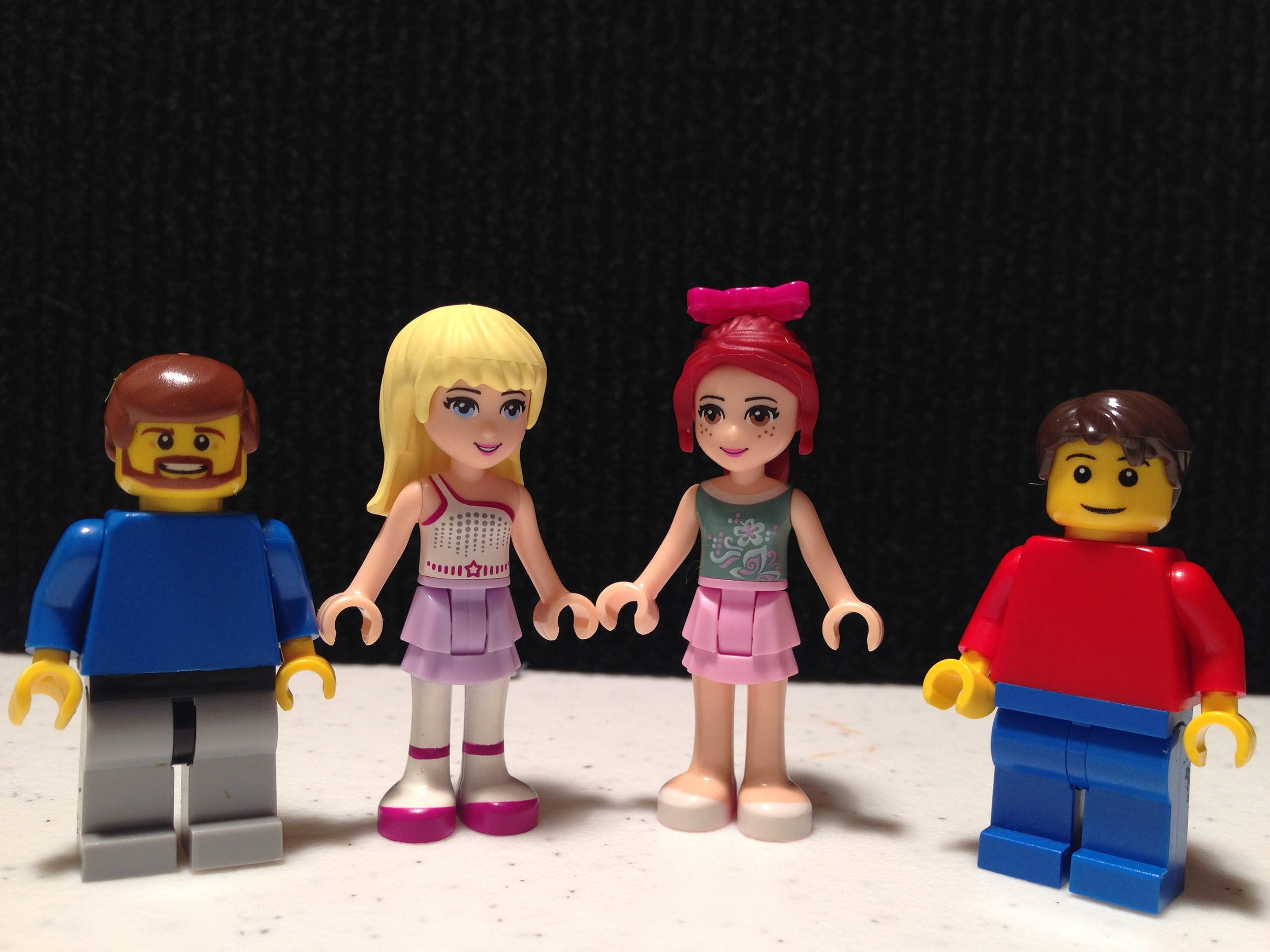 Lego Friends Height