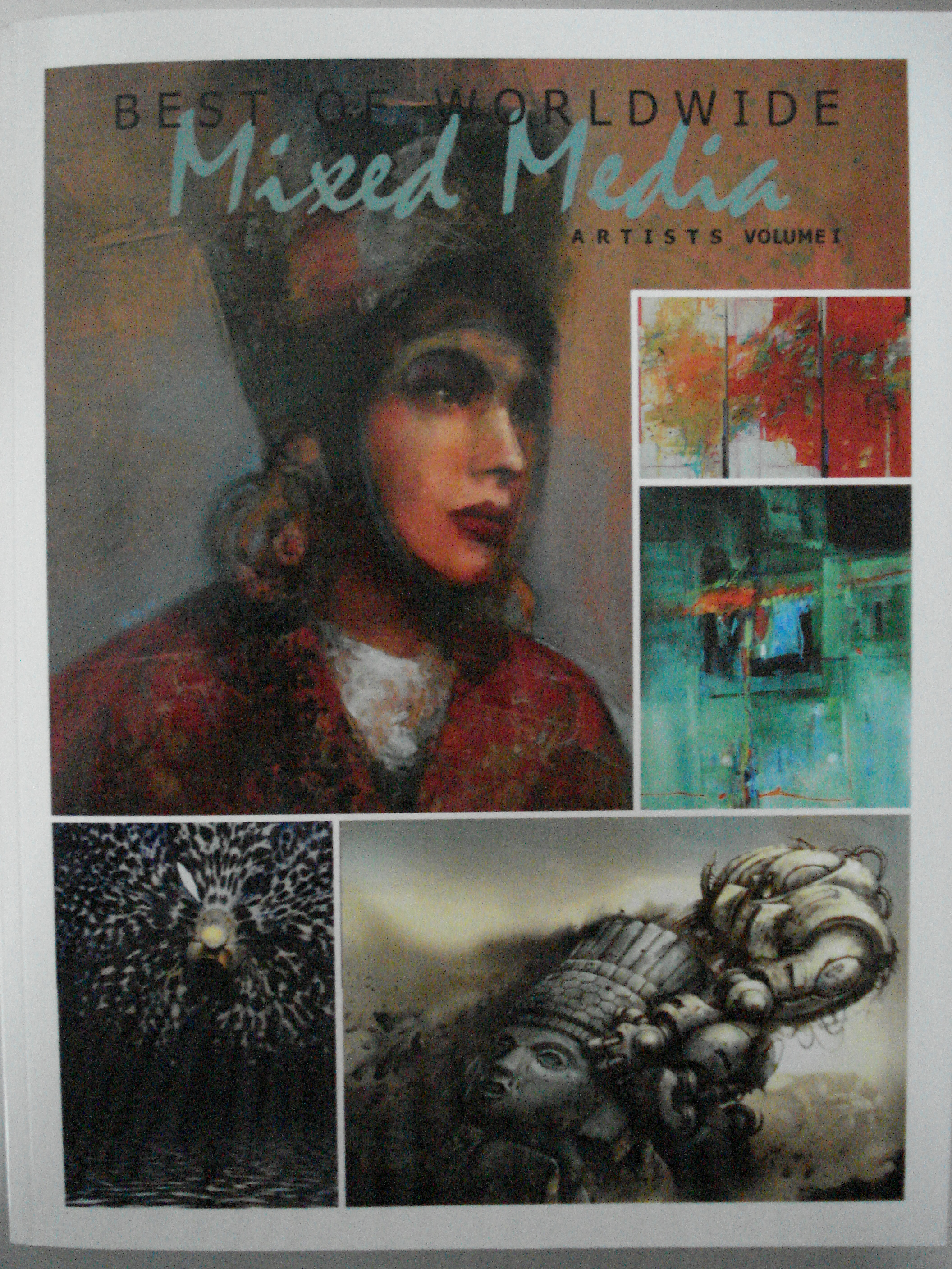 Book Cover: Best of Worldwide Mixed Media Artists, Vol.1