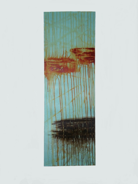 Desert Sunset    Acrylic on Stretched Gallery Canvas   36 x 12 in.