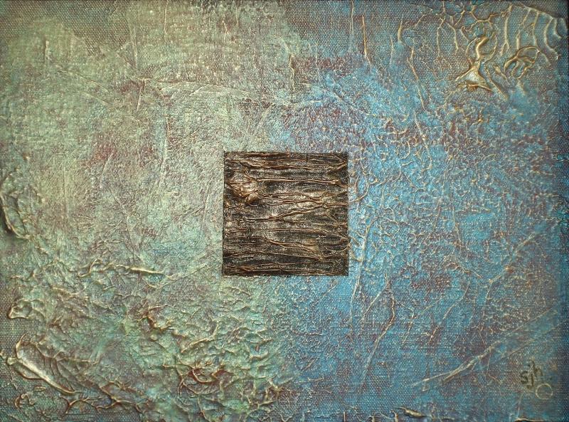 "9"" x 12"" canvas panel - framed"