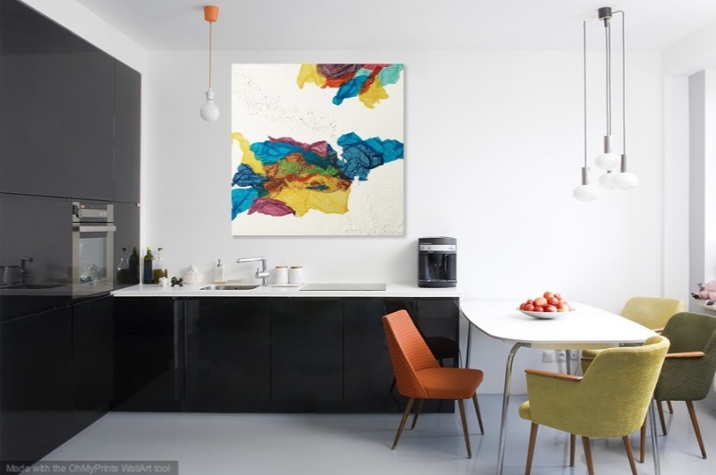 Kaleidoscope Dreams   shown in a kitchen.
