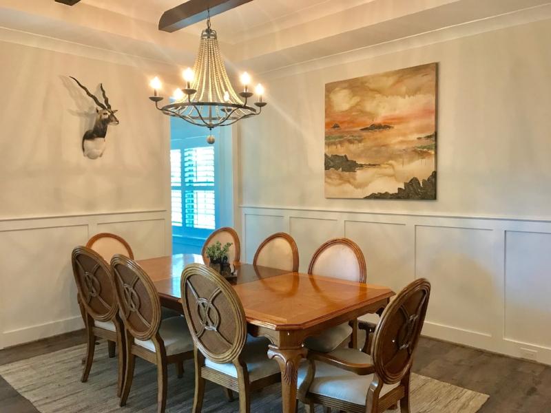 QUIETUDE - 48 x 48 - Dining Room