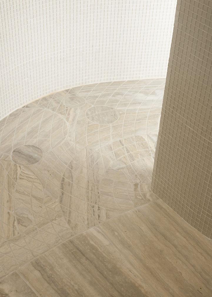 Master Bath Floor Detail