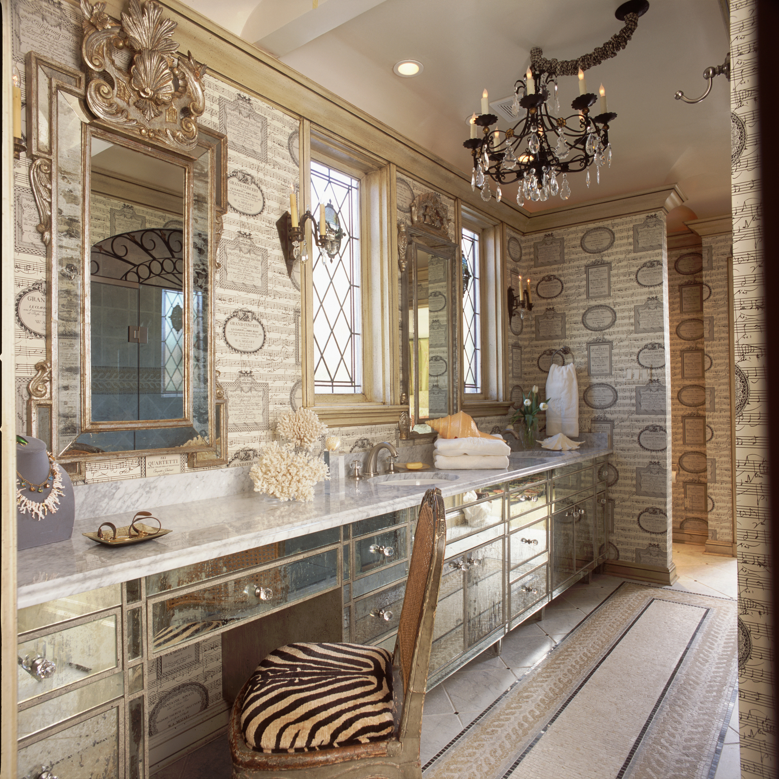 Highland Park Tudor Master Bath Room