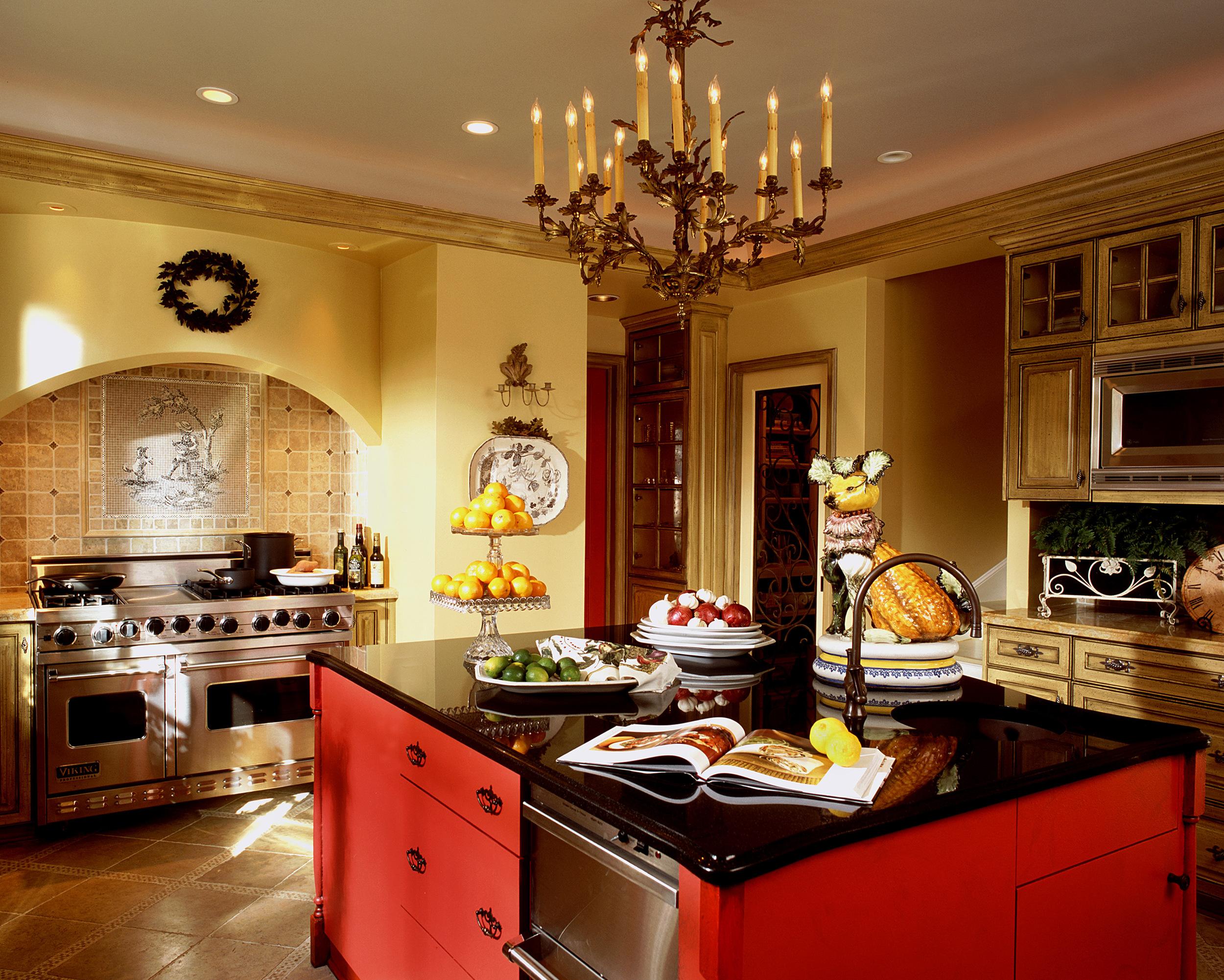 Highland Park Tudor Kitchen