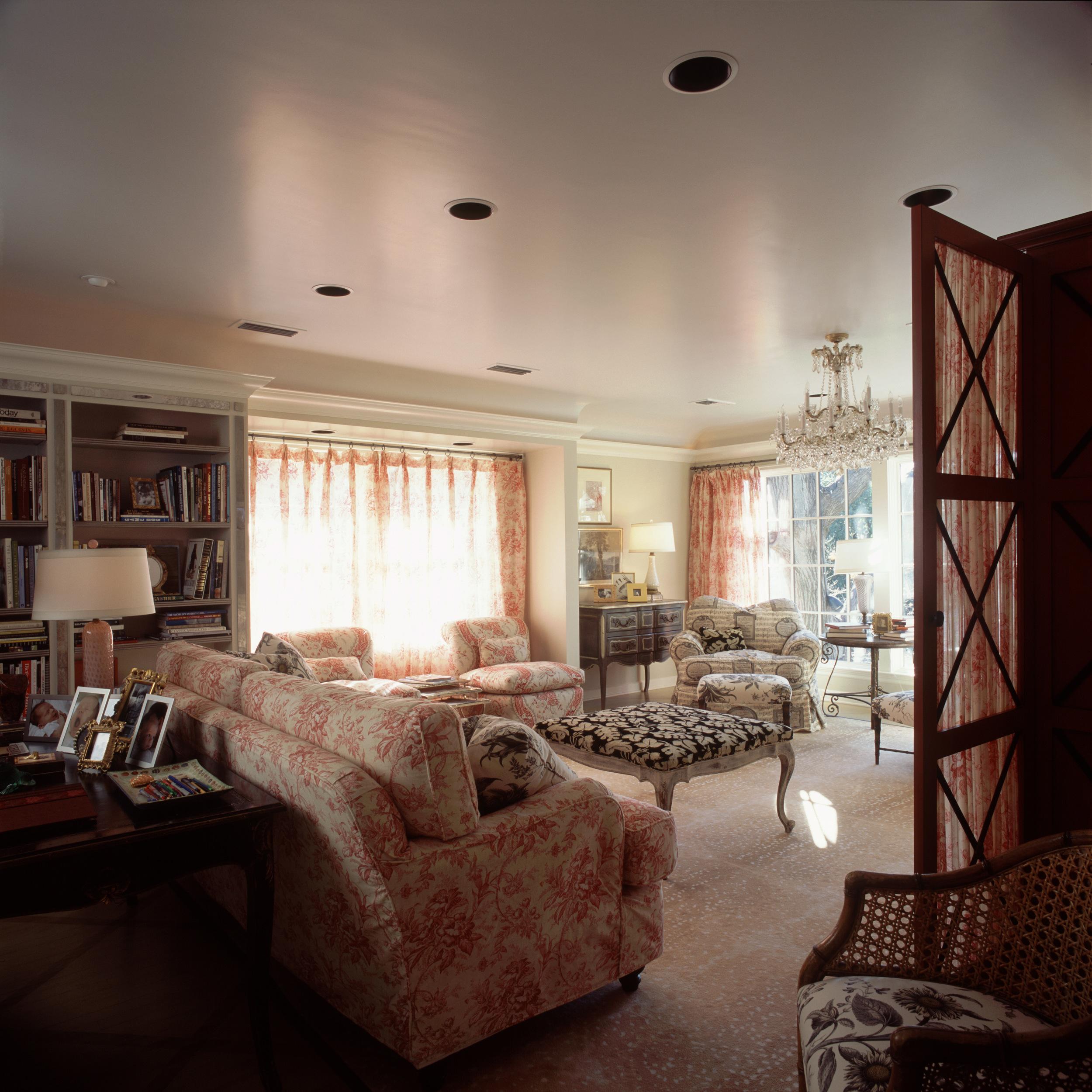 Highland Park Tudor Sitting Room