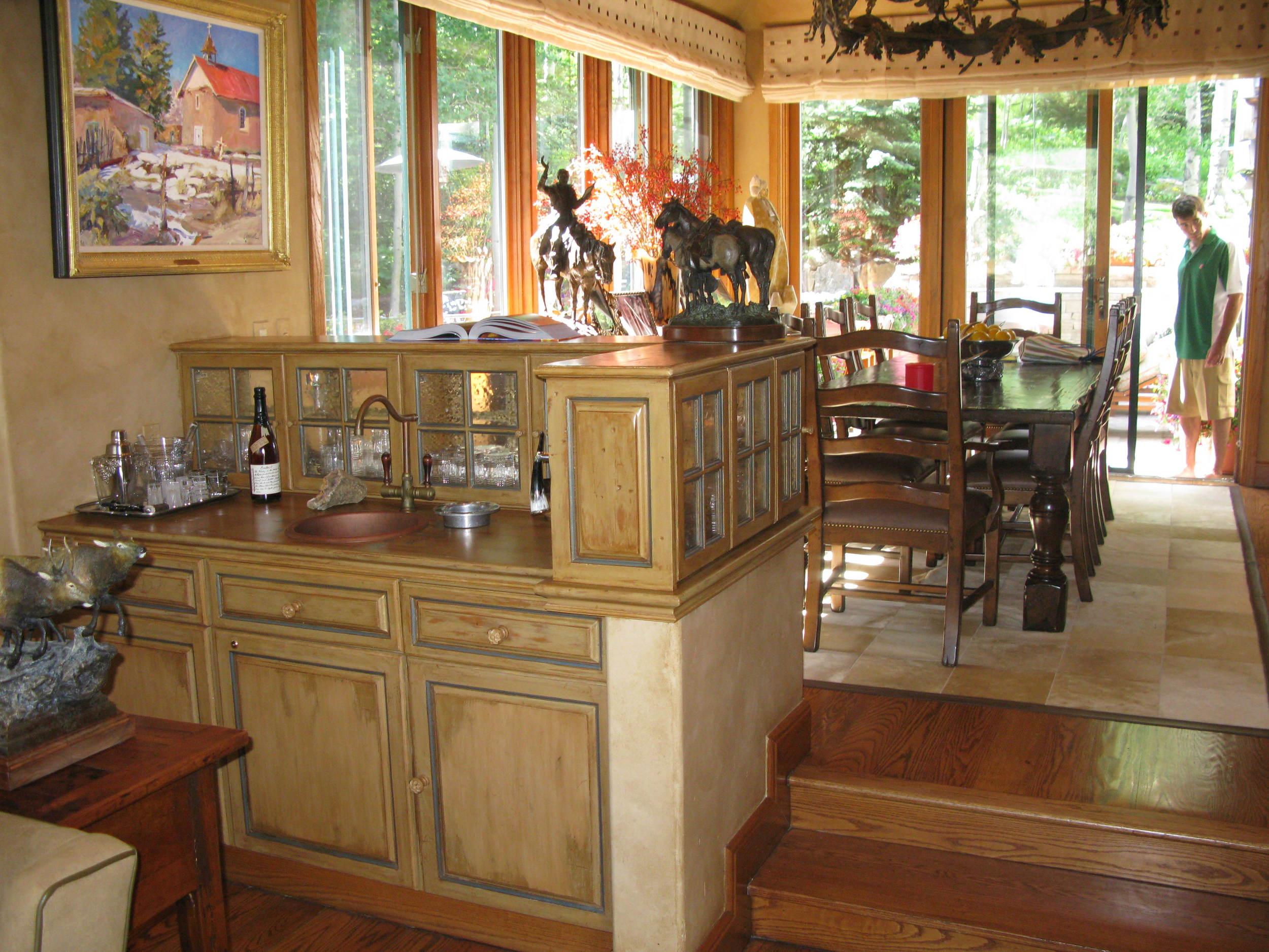 Vail Getaway Dining Room Before