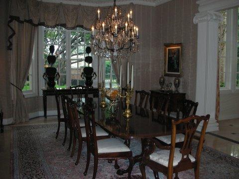 Strait Lane Estates Dining Room Before