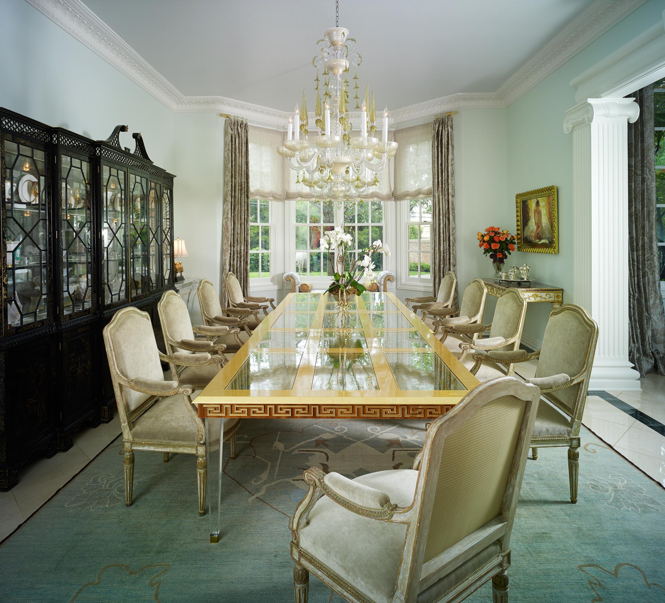 Strait Lane Estates Dining Room After