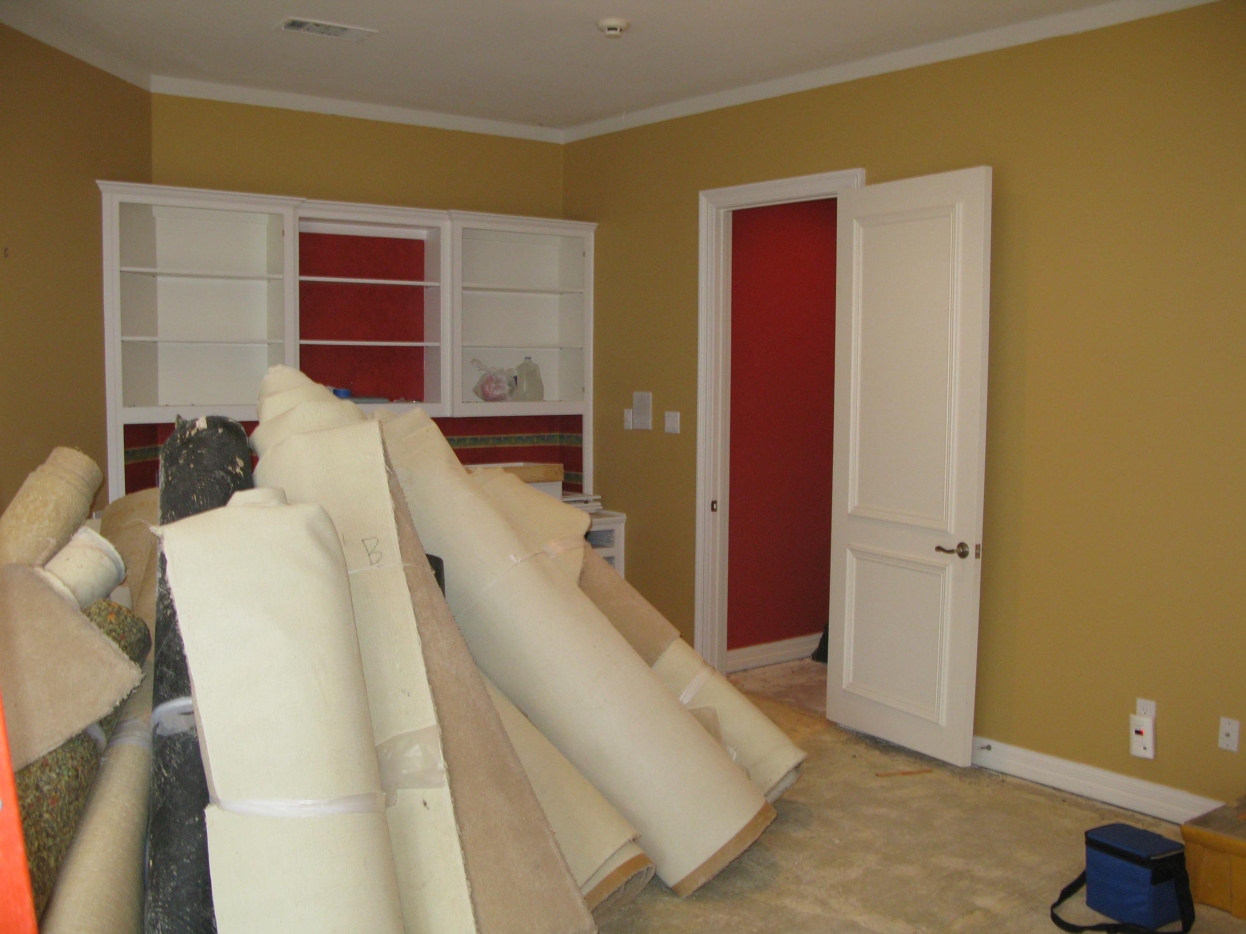 Strait Lane Estates Boy's Room Before