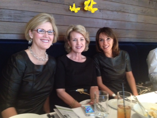 With Catherine Dolen and Esther Schattan, Ornare Director of Sao Paulo, Brazil.