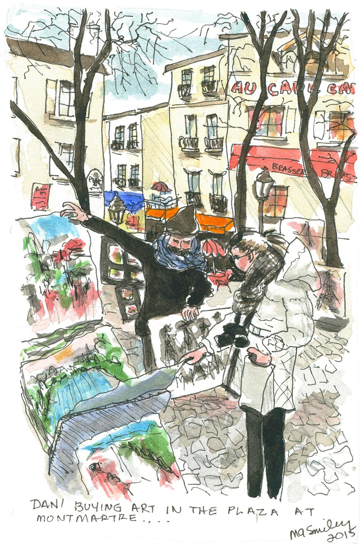 Art at MontMartre